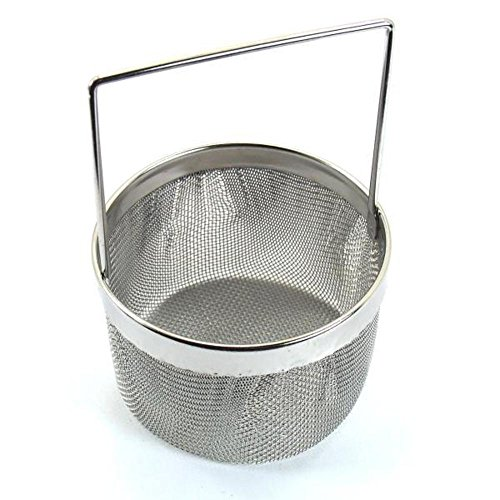 Small Ultrasonic Task Jewelry Cleaning Basket 4'' by FindingKing