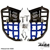 Polaris Predator 500 (2003-2007) Propeg Nerf Bars Black Bars w/ Blue Net