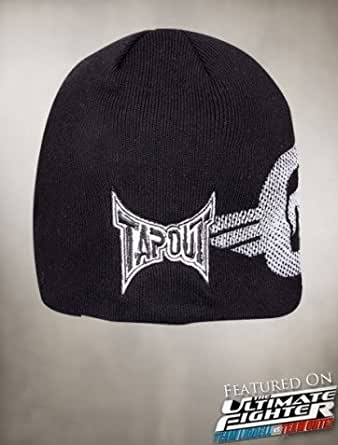 amazoncom tapout off set skull cap mma ufc beanie clothing