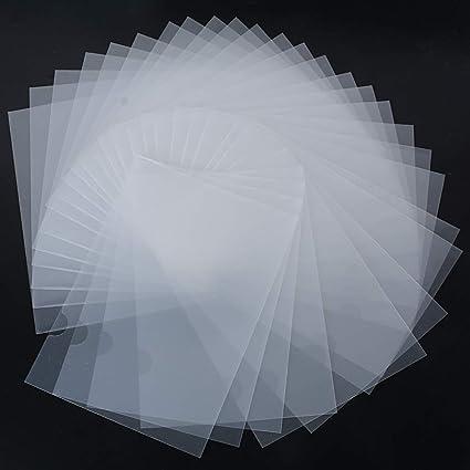 Sichthüllen Aktenhüllen Sichthülle A4 an 2 Seiten offen Klarsichthülle