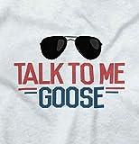 Brisco Brands Talk Goose Funny Baby Clothes | Cute Shirt Newborn Gift Idea Romper Bodysuit