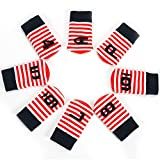 PLAYEAGLE 10 Pcs/Set Knitted Velvet Golf Clubs Headcover Driver Cover,Fairway Wood Head Covers for Tayormade,Callaway,Titleist and More Brand