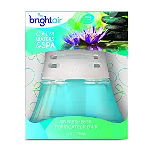 BRIGHT Air Scented Oil Diffuser - Calm Waters and Spa , 2.5 ounce bottle