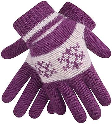 Knit Hand Warmers Lightweight Magic Stretch Gloves Warm Gloves for Women Mens