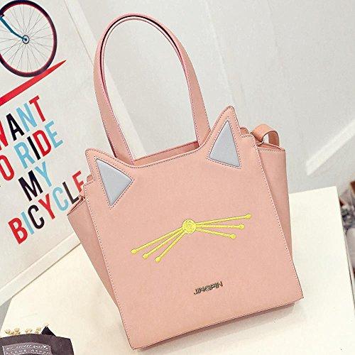 de chat aile à épaule Lady sac pour Baotan coréenne femme B Aoligei Version croisée main Fashion de sac diagonale Big AqEFxRZw