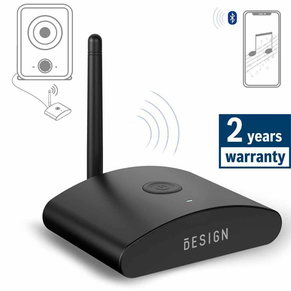 Besign BE-RX Long Range Home HD Bluetooth Music Receiver, Wireless Audio Adapter for Music Streaming, Aptx, Support Optical, Coaxial & 3.5mm Audio by BESIGN