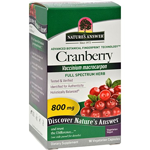 Natures Answer Cranberry Fruit - Promotes Urinary Tract H...