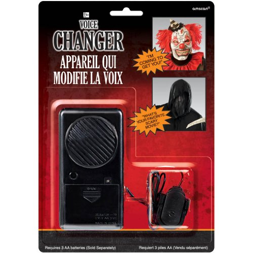 Amscan Halloween Voice Changer Party Supplies, -