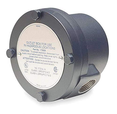 Marathon Motors Conduit Box,for Use with 56 Frame Hazardous Location Motors,Package Quantity 1 - Hazardous Location Motor