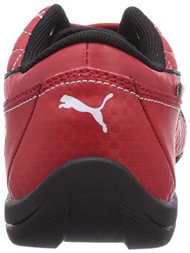 Puma Drift Cat 6 L SF Jr - zapatilla deportiva de material sintético infantil Rojo