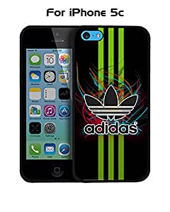 Adidas Iphone 5c Funda Case, Brand Logo Snap On Slim Ultra Thin High Impact Protector Solid Fit for Iphone 5c