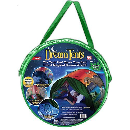 DreamTents Fun Pop Up Tent - Dinosaur Island