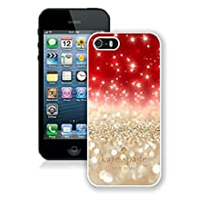 Most Popular Custom iPhone 5S Case Kate Spade New York Hard Plastic Phone Case For iPhone 5S Cover Case 101 White