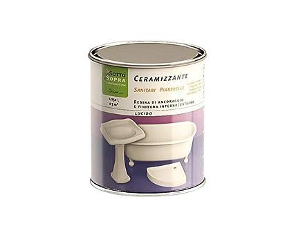 Vernice Per Vasca Da Bagno Prezzi : Smalto ceramizzante bianco lucido ml per ceramica e piastrelle