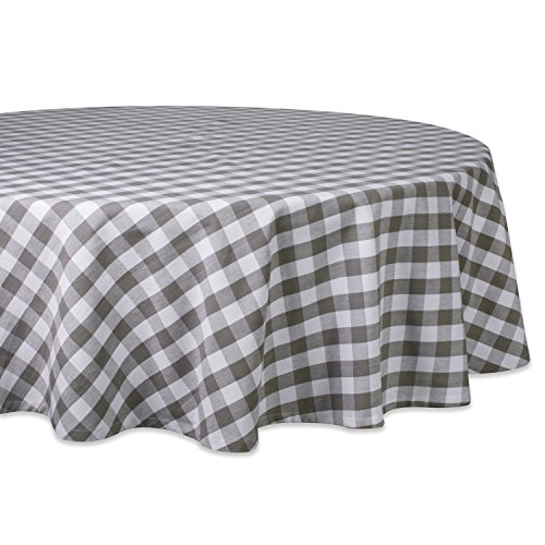 Round Check Tablecloths (DII 70
