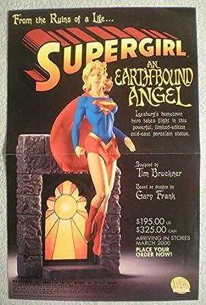 Amazon com: SUPERGIRL STATUE Promo Poster, 11