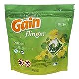 Gain Flings Original Laundry Detergent Pacs 16 Count