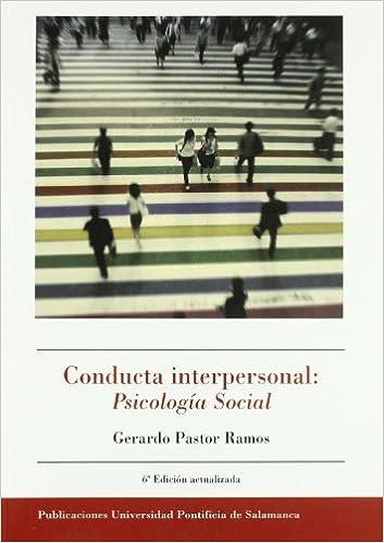 Book CONDUCTA INTERPERSONAL: PSICOLOGIA SOCIAL
