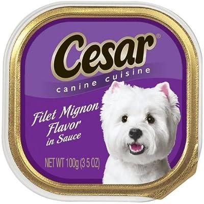 Cesar 10179854 Select Dog Food, Filet Mignon - Quantity 24