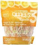 Coromega Omega3 Squeeze Packets, Orange, 120-Count, Health Care Stuffs