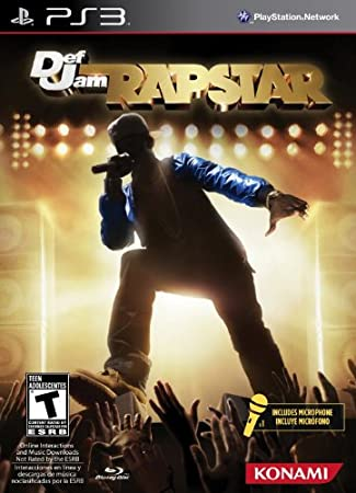Konami 25121 Def Jam Rapstar Bundle - PlayStation 3