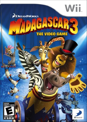 Madagascar 3: The Video Game – Nintendo Wii