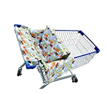 Shopping Cart Cover for Baby 3 in 1 Unisex Baby Blanket, Restaurant High Chair, Easy to Install