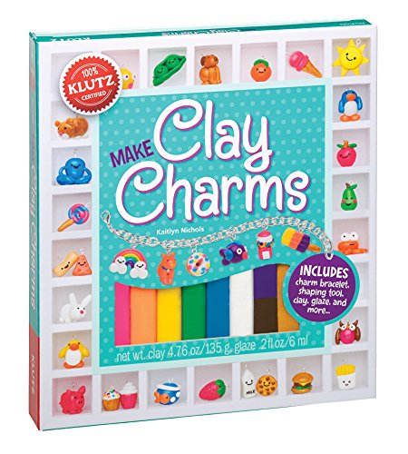 Klutz Make Clay Charms Craft Kit - Charm Bracelet Craft Kit