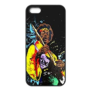 Jimi Hendrix Jamming iPhone 4 4s Cell Phone Case Black Protect your phone BVS_644529
