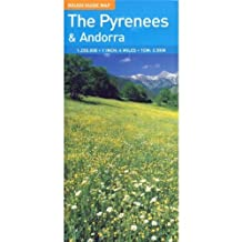 The Rough Guide to Pyrenees & Andorra Map