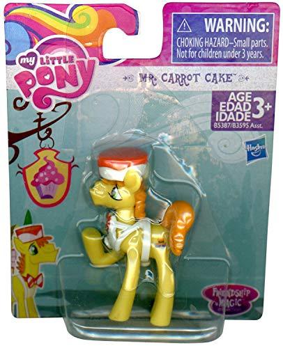 3Dstereo Pony Mr. Carrot Cake Figure Friendship Magic - Cake Topper -