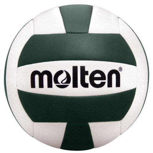 Molten Camp Volleyball (Green/White, Official) (White Green Volleyball And)
