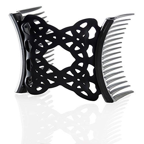 HairZing Ponytailer Medium Comfy Black