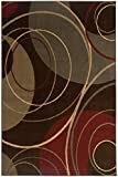 Gyro Area Rug, 10'x13′, BROWN Picture