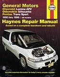H38035 Haynes GM Chevrolet Lumina APV Oldsmobile Silhouette Pontiac Trans Sport 1990-1996 Auto Repair Manual