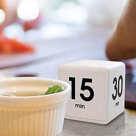 Compra Ogquaton Reloj Despertador Cube de Temporizador de ...