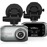 "JEEMAK Car Dash Cam Full HD 1080P Dashboard Camera 1.5"" HD Screen with G-Sensor, WDR, Loop Recording"