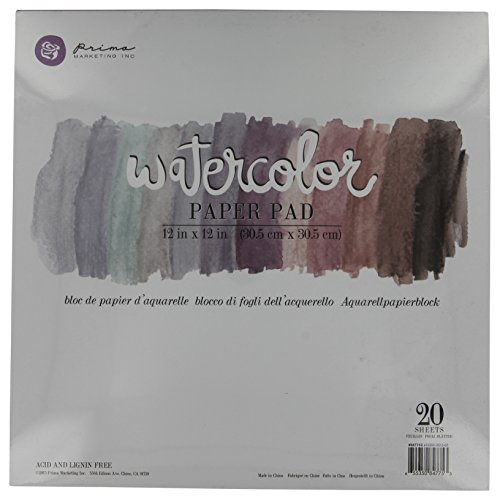 Prima Marketing Watercolor Paper Pad 7