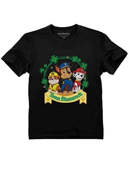 6df6679bb Team Shamrock St. Patrick's Day Paw Patrol Gift Official Toddler Kids  T-Shirt 2T