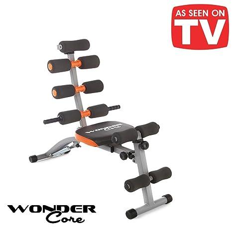 Original Wonder Core.Banco para abdominales 6 en 1Asiento ...