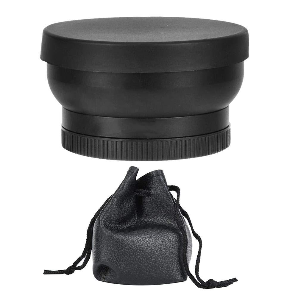 Senyar Macro Lens,52mm 0.45X Wide-Angle Macro Attached Optical Glass Lens Alloy Frame Black by Senyar