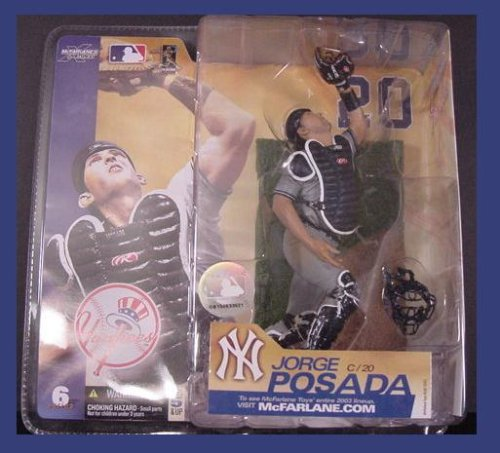 McFarlane Toys MLB Sports Picks Series 6 Action Figure Jorge Posada (New York... (Series Fan Yankees)