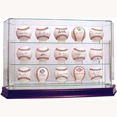 Steiner Sports Glass 15 Ball Baseball Case