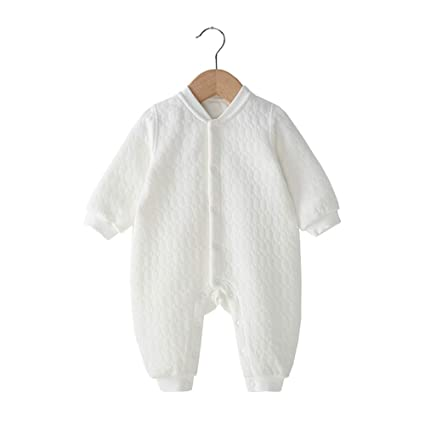 c4f5ee30faacb ベビー服 長袖ロンパース 前開き 新生児 子供服 春 秋 冬 綿100% カバーオール 赤ちゃん