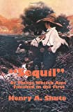 Sequil or Things Whitch Aint Finished in The, Henry Shute, 0977304035