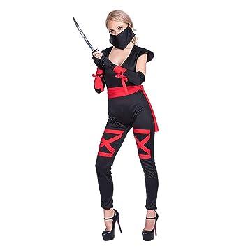Zounghy Disfraz de Samurai para Mujer de Halloween con Disfraz de ...