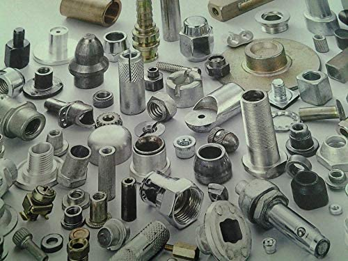 Kunrled Stainless Steel,Nature,PEM standrad, Ochoos STKC-256-20 Thru-Threaded Molded-in Insert