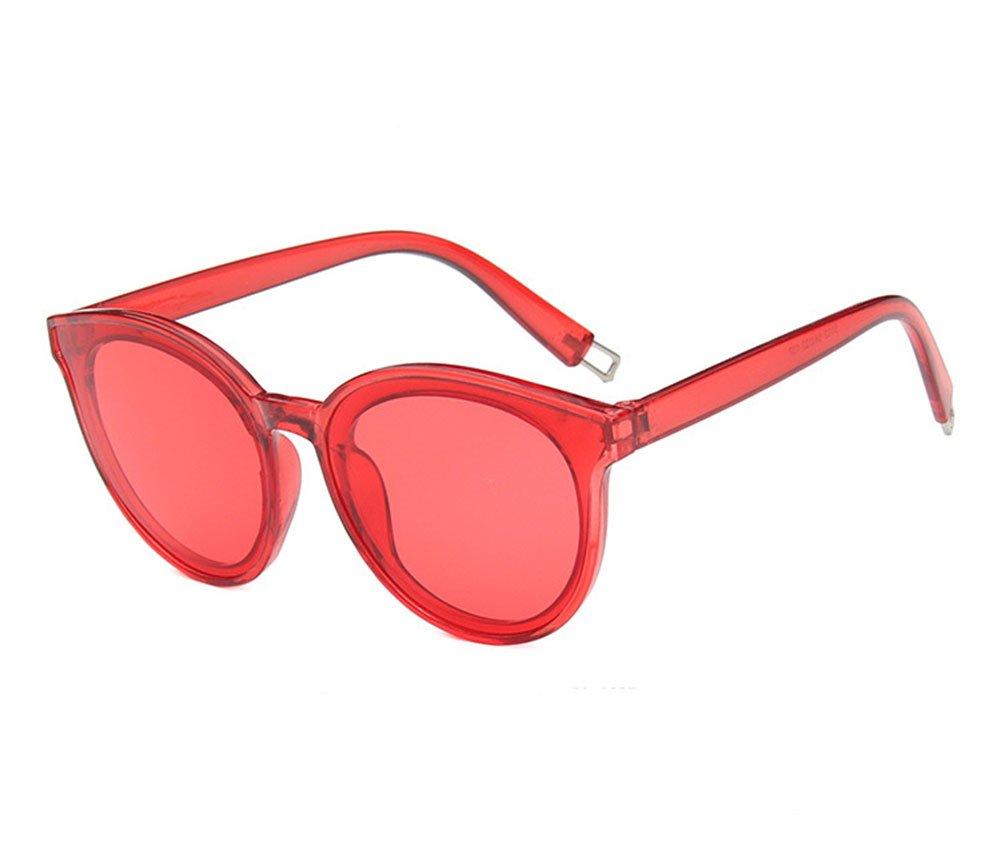Joyfeel Buy Retro Sunglasses Outdoor Glasses Anti-UV Sunglasses Polarized Sunglasses for Women-Red
