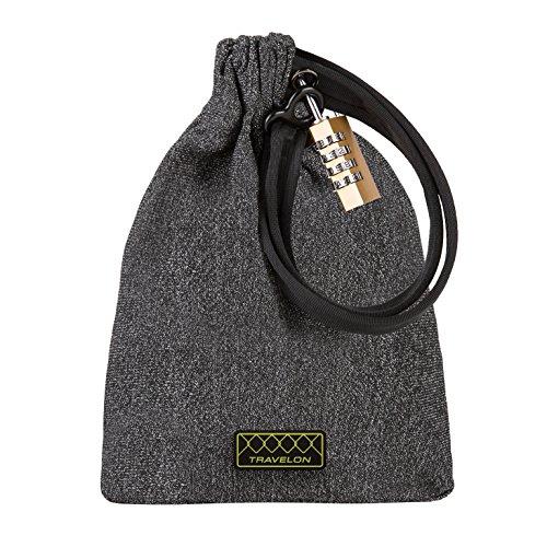 Travelon Anti-theft Lockdown Bag - Large, Gray