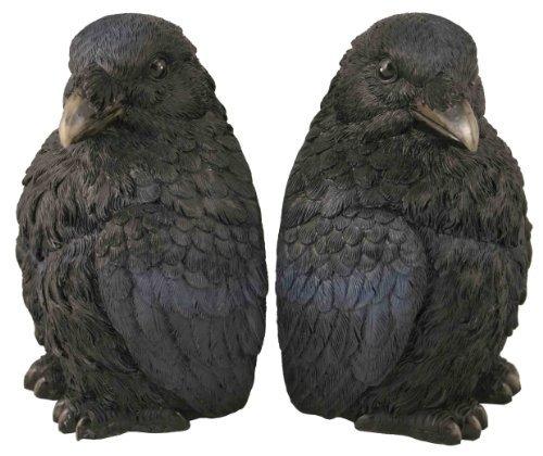 Raven Bookend Set by Streamline